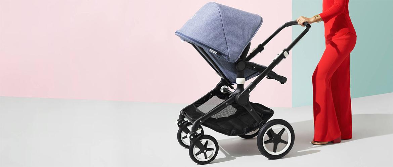 Bugaboo Fox to elegancki wózek 2w1 z możliwością rozbudowy do systemu 3w1