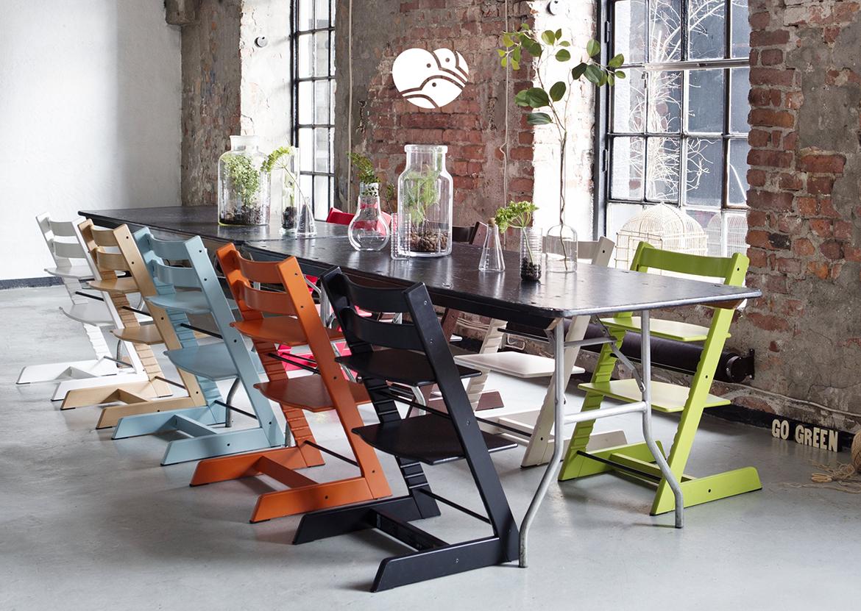 Stokke Tripp Trapp to dobrze zaprojektowane krzesło, które nie tylko spełnia swoją funkcję, ale również zdobi wnętrze