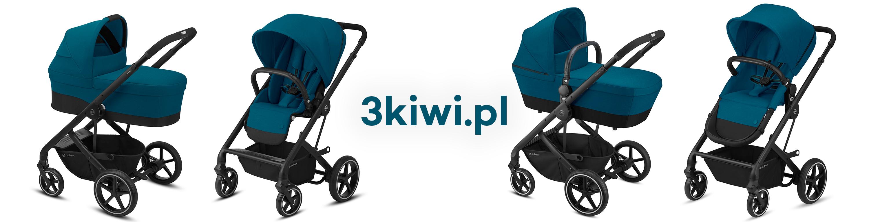 Wózek spacerowy Cybex Balios S Lux 2-in-1 głęboko spacerowy 2w1 siedzisko kubełkowe