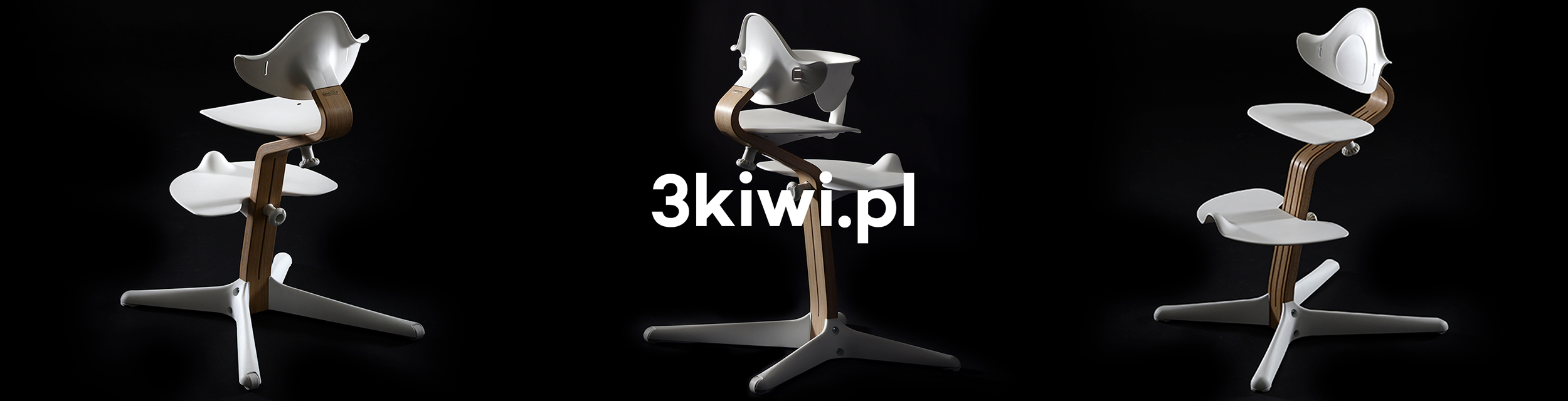 Nomi by Evomove ergonomiczne krzesełko rosnące do karmienia dla dzieci