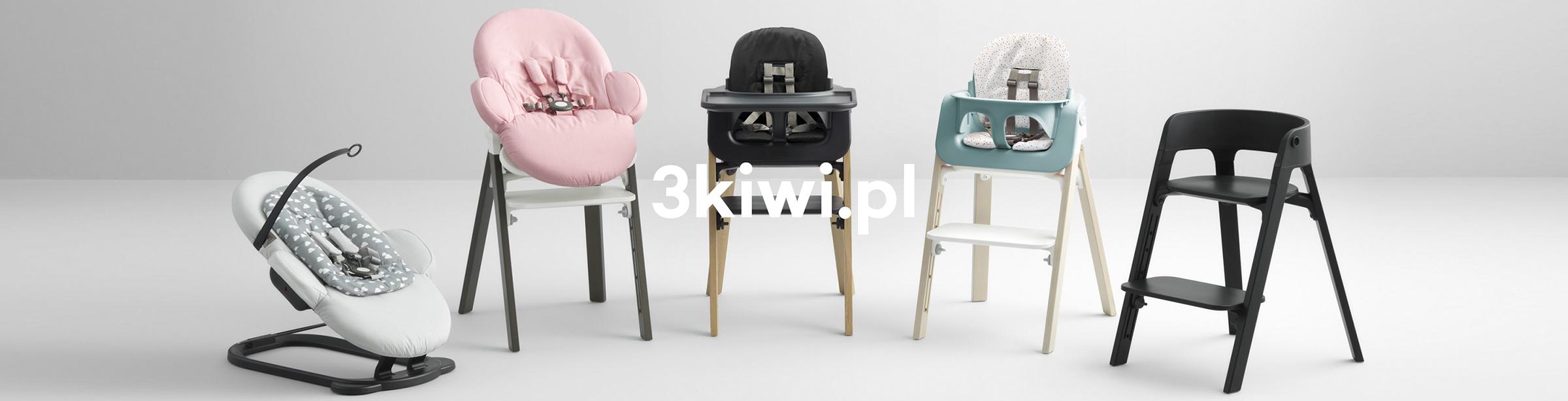 Ergonomiczne krzesełko do karmienia Stokke Steps Tripp Trapp