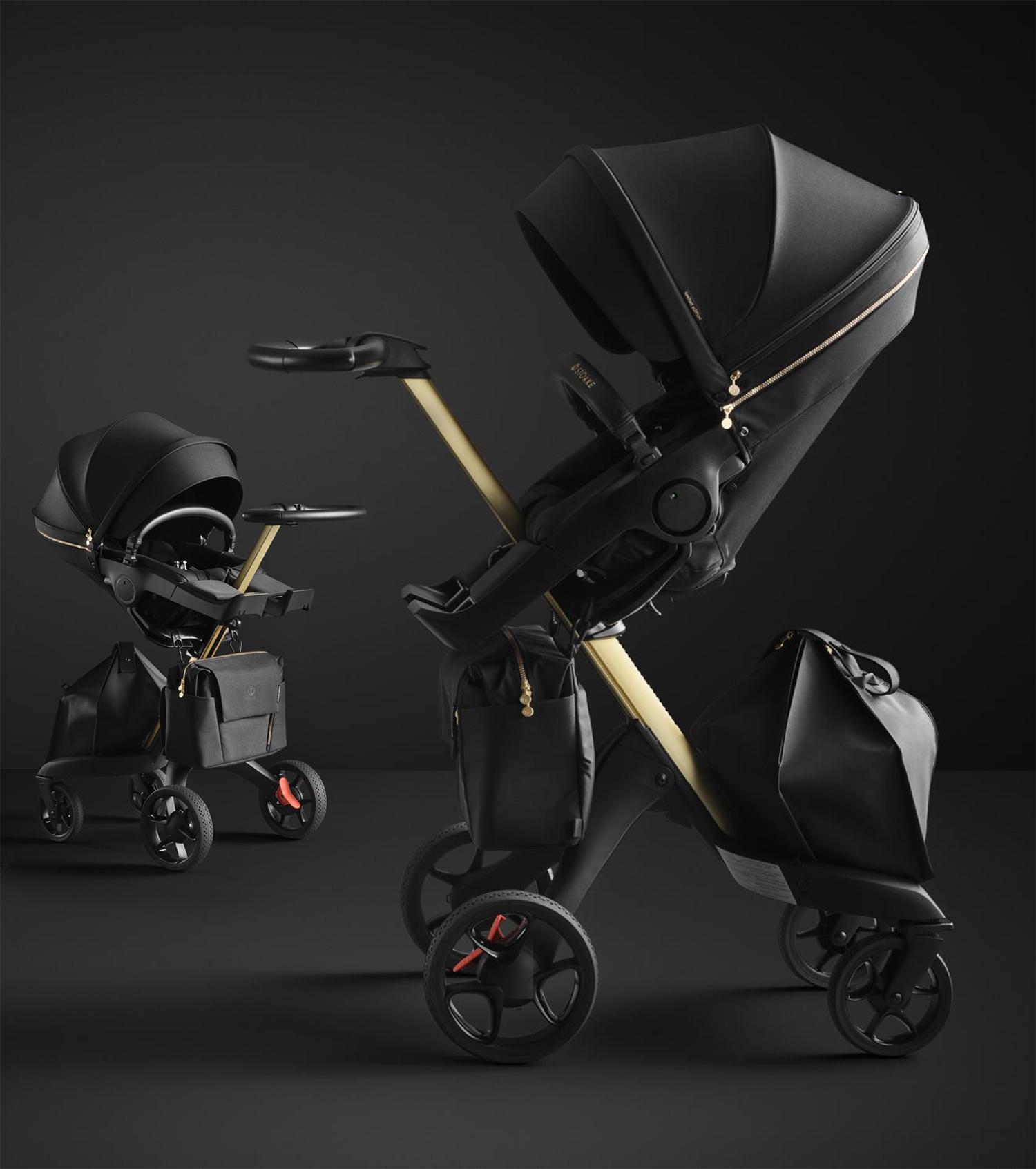Stokke Xplory V6 Gold Limited Edition