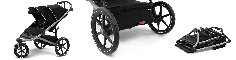 Thule Urban Glide 2 wózek bliźniaczy