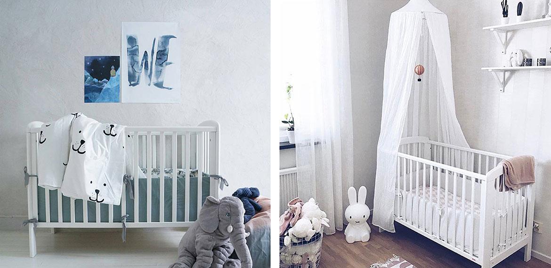 Tanie i dobre łóżeczko dziecięce skandynawskie design Troll Nicole 120x60 3kiwi