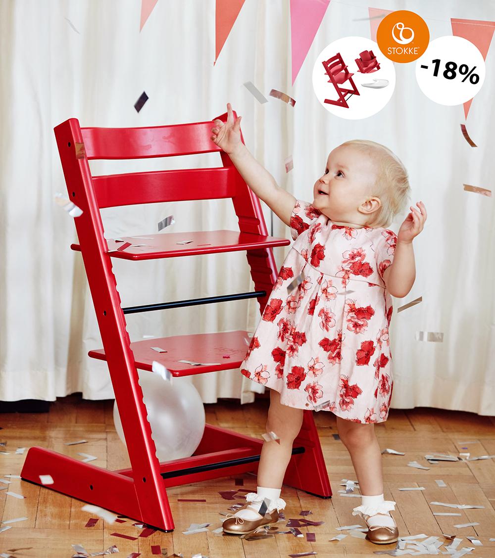 Erkonomiczne Krzesełko Dziecięce Stokke Tripp Trapp Promocja 3kiwi