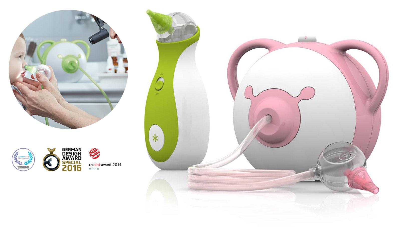 elektryczny aspirator dla dziecka do nosa profesjonalny medyczny nosiboo pro 3kiwi