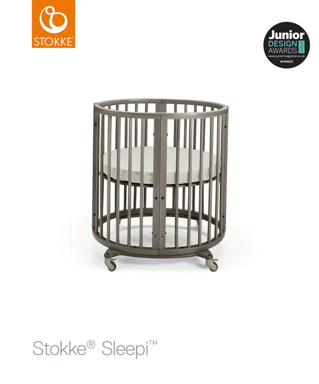 Stokke eczko sleepi mini hazy gray wyposa enie for Pol junior design