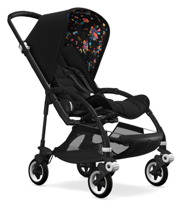 BUGABOO BEE5 BY NIARK1 - MONSTERS ON THE MOVE LIMITED EDITION - COMPLETE STROLLER - KOMPLETNY WÓZEK SPACEROWY