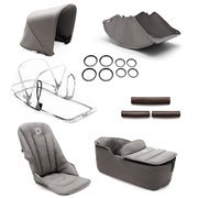 Bugaboo | Fox | Style Set Complete | Zestaw Bazowy | Mineral Collection | Light Grey