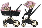 CYBEX BY JEREMY SCOTT | PLATINUM | PRIAM | WÓZEK GŁĘBOKO-SPACEROWY | CHERUBS PINK