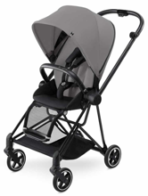 CYBEX MIOS - WÓZEK SPACEROWY - BLACK MATT FRAME / MANHATTAN GREY