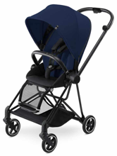 CYBEX MIOS - WÓZEK SPACEROWY - BLACK MATT FRAME / MIDNIGHT BLUE
