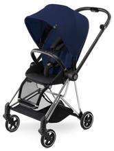 CYBEX MIOS - WÓZEK SPACEROWY - CHROME FRAME / MIDNIGHT BLUE