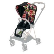 Cybex | Mios 2.0 | Seat Pack | Tapicerka Siedziska Spacerowego | Fashion Collection | Spring Dark Blossom