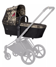 Cybex | Priam | Lux Carrycot | Gondola | Fashion Collection | Butterfly