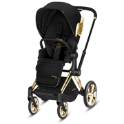 Cybex by Jeremy Scott | Priam 2.0 | Wózek Spacerowy | Fashion Collection | Gold Wings + Black