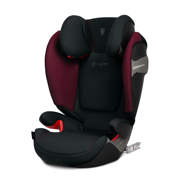 Cybex for Scuderia Ferrari | Solution S-Fix | Fotelik Samochodowy 15-36 kg | Victory Black