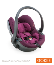 FOTELIK STOKKE® IZI GO™ PURPLE BY BESAFE