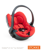 FOTELIK STOKKE® IZI GO™  RED BY BESAFE