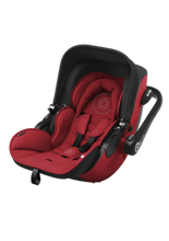 KIDDY EVOLUNA I-SIZE RUBY RED 2017