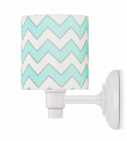 LAMPS&CO KINKIET CHEVRON MINT