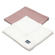 La Millou | 2Pack Pieluszka 100% Cotton Muślin | French Lavender & Off White