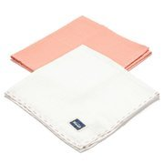 La Millou | 2Pack Pieluszka 100% Cotton Muślin | Papaya & Off White