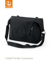 STOKKE | CHANGING BAG | TORBA 2W1 | BLACK