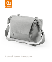STOKKE | CHANGING BAG | TORBA 2W1 | GREY MELANGE