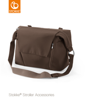 STOKKE® CHANGING BAG - TORBA PIĘLĘGNACYJNA 2W1 BROWN 2017