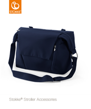 STOKKE® CHANGING BAG - TORBA PIĘLĘGNACYJNA 2W1 DEEP BLUE 2017