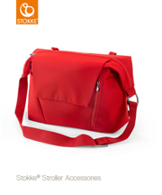 STOKKE® CHANGING BAG - TORBA PIĘLĘGNACYJNA 2W1 RED 2017