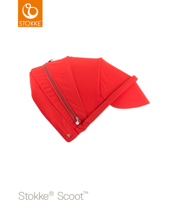 STOKKE® SCOOT CANOPY BUDKA Z DASZKIEM RED