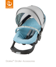 STOKKE® SUMMER KIT XPLORY / TRAILZ FLORA BLUE 2017