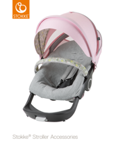 STOKKE® SUMMER KIT XPLORY / TRAILZ FLORA PINK 2017