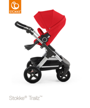 STOKKE® TRAILZ® SPACEROWY RED KOŁA TERENOWE