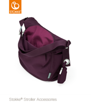 STOKKE® XPLORY® CHANGING BAG PURPLE