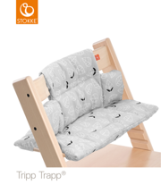 STOKKE | TRIPP TRAPP | CUSHION | PODUSZKA | GREY LEAF