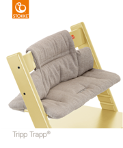 STOKKE | TRIPP TRAPP | CUSHION | PODUSZKA | HAZY TWEED