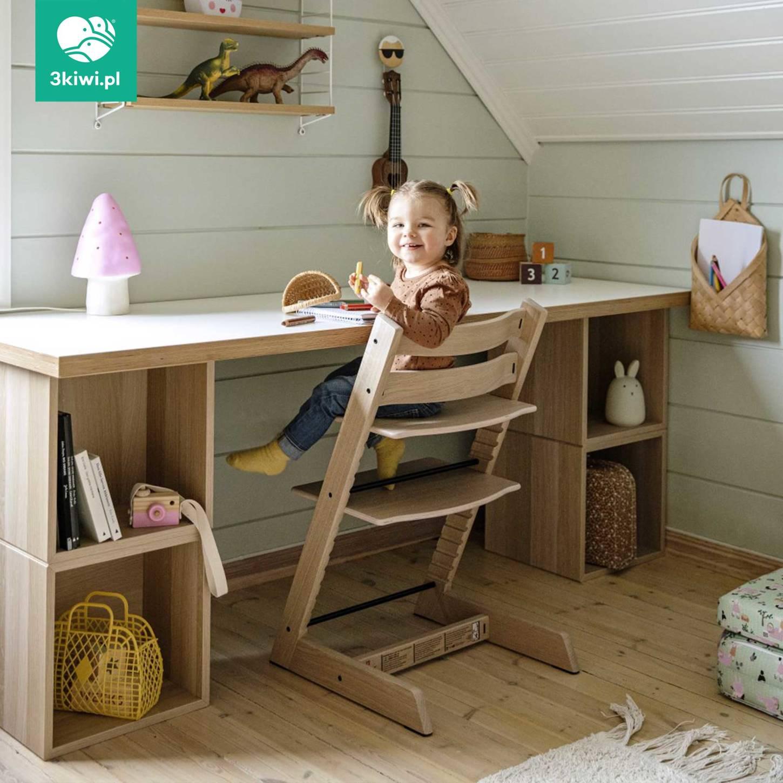 Stokke | Tripp Trapp | Beech Chair | Krzesełko z Litego Drewna Bukowego | Aqua Blue - Pokoik ...