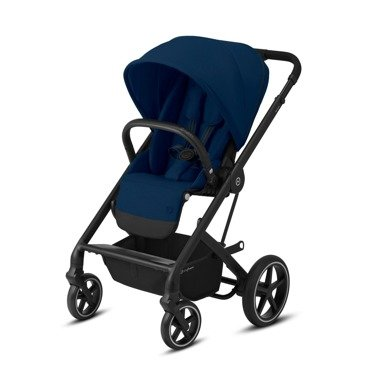 Cybex | Balios S Lux | Wózek Spacerowy | Black + Navy Blue
