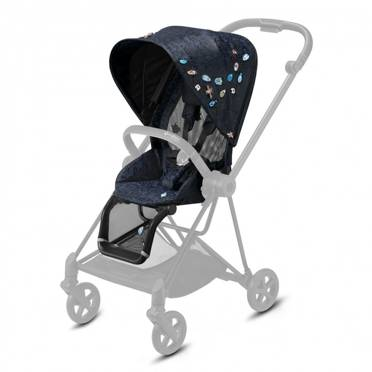 Cybex | Mios 2.0 | Seat Pack | Tapicerka Siedziska Spacerowego | Fashion Collection | Jewels of Nature