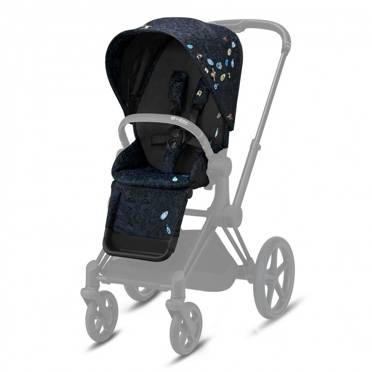 Cybex | Priam 2.0 | Seat Pack | Tapicerka Siedziska Spacerowego | Fashion Collection | Jewels of Nature