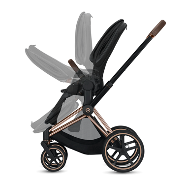 Cybex | Priam 2.0 | Wózek Spacerowy | Spring Fashion Collection | Light Blossom