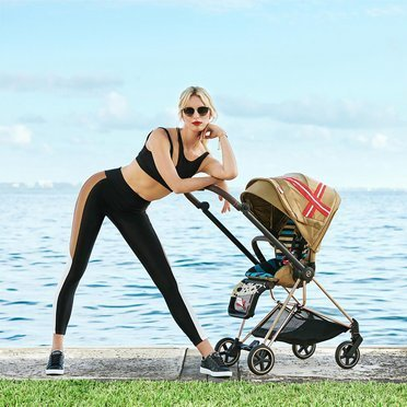 Cybex by Karolina Kurkova | Mios 2.0 | Kompaktowy Wózek Spacerowy | Fashion Collection | One Love