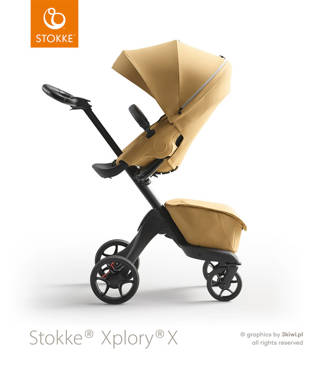 Stokke | Xplory X | Wózek Spacerowy | Golden Yellow